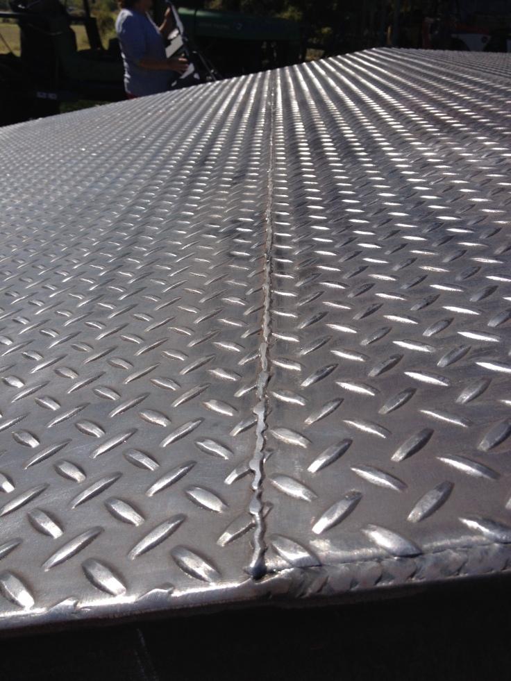 welded seams